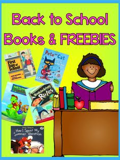 Back to School Books and a #FREEBIE at #Teach123