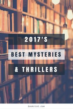 The best mysteries and thrillers to hit shelves in 2017.