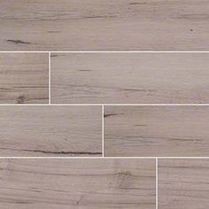 Move over hardwood! Wood look porcelain tile is taking center stage. These new stars offer the look and feel of genuine wood - even some saw marks in a spectrum of styles from reclaimed rustic to modern gray-washed. Choose these stunning yet durable tiles to headline your design! Featured: Palmetto Fog