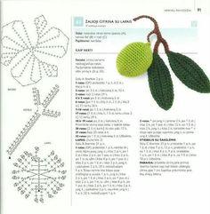 Ctochet pattern Olive