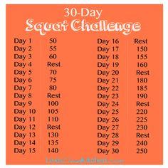 30-Day Squat Challenge | Lexiscleankitchen.com