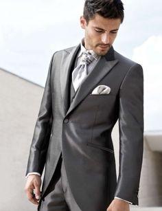 jaquet gris satinado