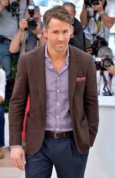 Pin for Later: The Hottest Pics of the Hottest Guys at Cannes Ryan Reynolds