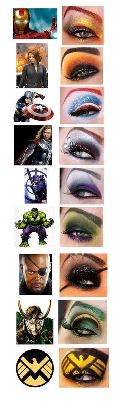 vingadores_makeup