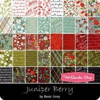 Juniper Berry Yardage <br/>BasicGrey for Moda Fabrics