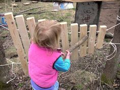 How to make your own outdoor xylophone from Simple and Joyful: Music Outside