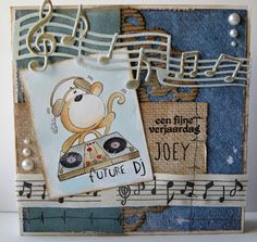 DT inspiration - Future DJ - All Dressed up Challenge blog: More April New Release DT inspiration