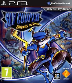 Sly Cooper Thieves in Time PS3 İncelemesi.