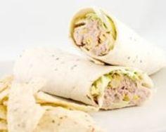 Wraps au thon (facile, rapide) - Une recette CuisineAZ