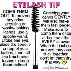 Tuesday Tips Browse, shop, book a party or join my Younique team HERE  ➡️www.greyt3dlashes.com