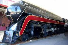 Beautiful N W 611 engine. Virginia Transportation Museum, Roanoke, VA.