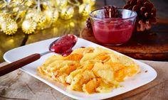 Kürbis-Kartoffel-Gratin und Maronenmus Rezept   Dr. Oetker