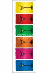 Martini Glasses (Pop Art)