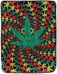 50 x fleece blanket. Get high and cozy up. The sacred rasta leaf plush fleece blanket is the perfect stoner blanket for an evening in or under the stars. Cannabis Wallpaper, Weed Wallpaper, Skull Wallpaper, Hype Wallpaper, Trippy Store, Weed Backgrounds, Skull Art, Dope Wallpapers