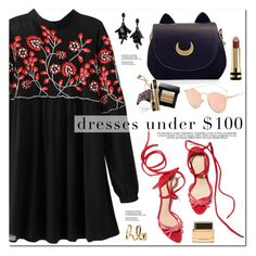 """Dresses Under $100"" by oshint ❤ liked on Polyvore featuring Oscar de la Renta, Chloé, Gucci and Givenchy"