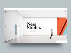Gallery Website Concept by Minh Pham ✪
