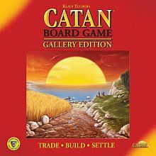 Embark on a quest to settle the fertile isle of Catan! Guide your brave settlers to victory by using clever trading and development. Use resources-grain wool ore brick and lumber-to build roads s...