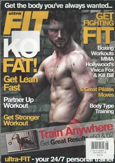 Ultrafit magazine Train anywhere MMA boxing workouts Pilates Partner fitness