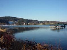 Otsego Lake in the early winter, Cooperstown N.Y.
