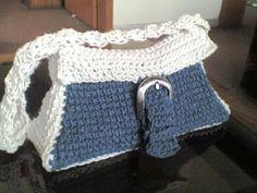 Indigo bag free crochet pattern