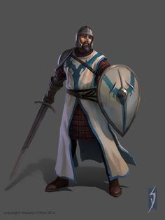 ArtStation - medieval battle units, Siana Dimitrova