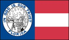 The 1861 Florida state flag. American Civil War, American History, Florida State Flag, Civil War Flags, Southern Heritage, Confederate States Of America, In God We Trust, Flags Of The World, Civilization