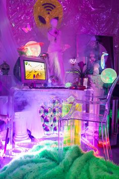 Let s make our beakers colorful #1: 97bc4f469c61deaa ba2fe0da65 s bedroom neon bedroom