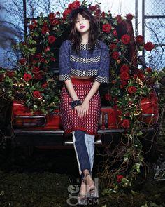 한효주의 요즘, 꽃 같은 나날 :: Vogue Girl