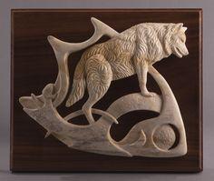 carved antler