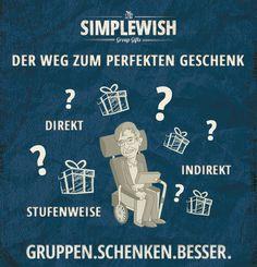 SIMPLEWISH's Methoden und Wege zum perfekten Geschenk. Eine Anleitung zur Geschenkfindung.