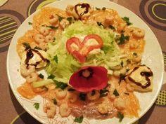 Salată de somon cu creveți Grains, Tacos, Rice, Mexican, Meat, Chicken, Ethnic Recipes, Seeds, Laughter