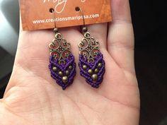 Macrame boho earrings custom order antique от creationsmariposa