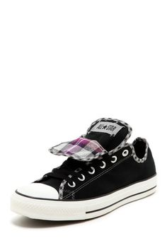 LOVE! Chuck Taylor Womens Double Tongue Ox Sneaker