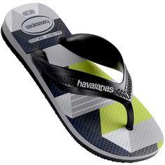7914c2551 Chinelo Infantil Havaianas Kids Max Trend Masculino Preto   Cinza. wang  Diego · Flip flops