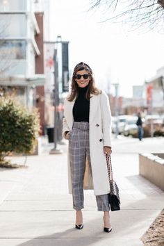 My Favorite Trends in Workwear Right Now Cute Dress Outfits, Overalls Outfit, Preppy Outfits, Short Outfits, Fall Outfits, Fashion Outfits, Colourful Outfits, Colorful, Everyday Outfits