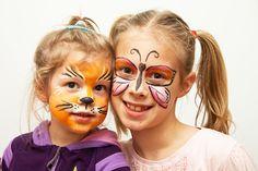 Idee fai da te :: Il trucco per Carnevale per i bambini tutorial make up for kids cat tiger butterfly