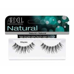 Ardell Invisiband Lashes Glamour False Lashes, Wispies-Black by Ardell, http://www.amazon.com/dp/B0035LCW4I/ref=cm_sw_r_pi_dp_jPShsb0XVQBJT