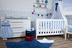 # Leinen los! # Maritimer Look # Baby-und Kinderzimmer # Anker-Kollektion # KRS-Design
