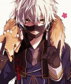 Nakigitsune   Touken Ranbu #anime #game