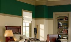 Paint Colors for Bedrooms | Dutch Boy Pronounces Your Bedroom Walls Green