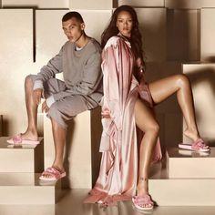 Rihanna's Fenty Fur Slide