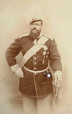 Tsar Alexander III always looks like such a great bear of a man.  He succeeded to the throne of Russia upon the assassination of his father, Alexander II.