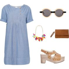 What to Wear to a Summer Night Market by themodernexchange on Polyvore