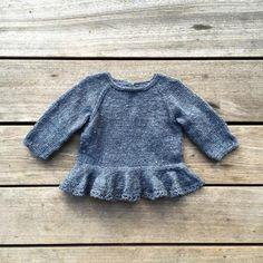 Agnes' kjolebody – Knitting for Olive