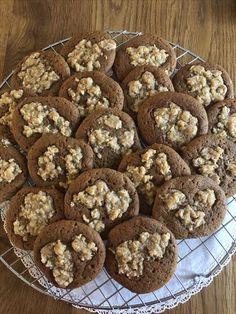 kelfstrobakar.se - Ljuvligt sega pepparkakor med smulig topp Cookies, Desserts, Food, Crack Crackers, Tailgate Desserts, Deserts, Biscuits, Essen, Postres