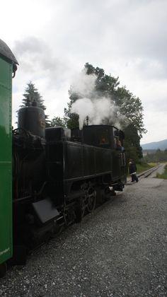 Die historische Taurachbahn in Mauterndorf ist im in den Sommermonaten für Jung und Alt ein absolutes Erlebnis Bahn, Locomotive, Around The Worlds, Summer Recipes, Locs