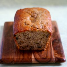 Walnut Banana Bread. A small calorie bomb that keeps you going for a couple of hours :D