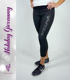 Younique Holiday Giveaway Day 3  Each weekday this week well be doing a Holiday #Giveaway here on Instagram. TODAYS PRIZE: A pair of Younique capri yoga pants!   HOW TO ENTER: 1. FOLLOW@younique_corporate on Instagram and LIKE this post 2. Tag a friend in the COMMENTS (use their @ name) and have them FOLLOW us too BOTH YOU AND THE FRIEND YOU TAG MUST FOLLOW@younique_corporate. If you are chosen as the winner BOTH of you will win todays prize!  Rules:  The Day 3 winner will be chosen at…