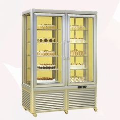 Prisma Chiller Display, with the help of our awesome LED lights, any confectionary exhibits will be highly visible, ensuring you an outstanding presence. Fridge Storage, Tall Cabinet Storage, Locker Storage, Restaurant Equipment, China Cabinet, The Help, Display, Ghost Photos, View Source