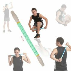 Gurin Massage Roller (Treats muscle pain, knots and trigger points, Sports injuries, muscle massage, increase strength)